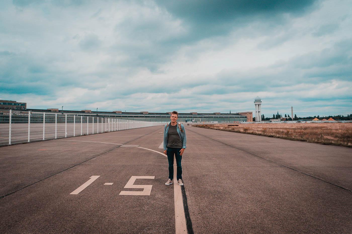 Berlin - lotnisko Tempelhof
