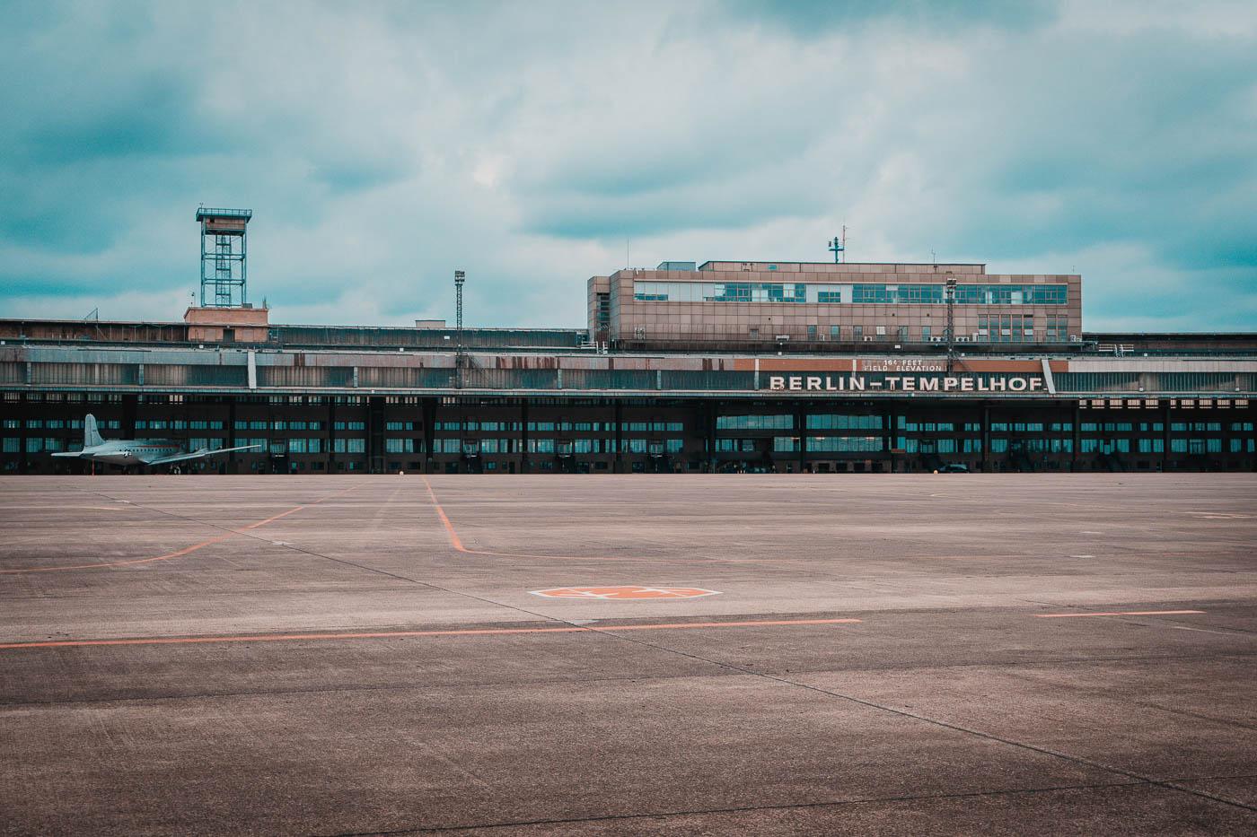 Lotnisko Tempelhof wBerlinie
