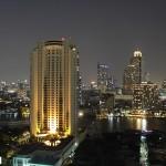 Widok z naszego balkonu w mieszkaniu w Tajlandii